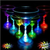 LED margarita glass