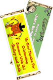 personalized western party candy bar wrapper