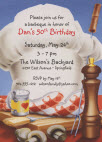 bbq theme invitation. Birthday barbecue invitations. Birthday BBQ invitations