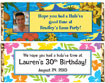 luau candy bar wrappers. luau birthday party favors