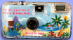personalized luau cameras
