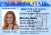 drivers license invitation for NASCAR birthday party theme