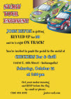 personalized NASCAR birthday invitation