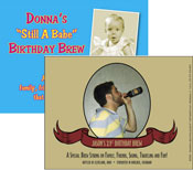 custom beer bottle labels for birthday party favors