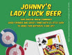 personalized casino party beer labels