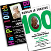 100th Birthday Invitations and Favors