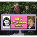 Custom 80th birthday party banners