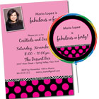 A Fabulous Birthday Theme Party Invitations and Supplies