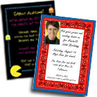 Theme Party Invitations