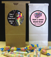 birthday party favor bags mardi gras theme
