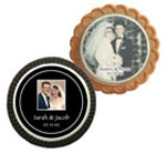 Custom anniversary cookie party favors