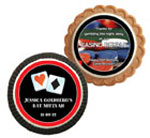 Casino theme cookie party favors