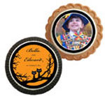 Halloween theme cookie party favors