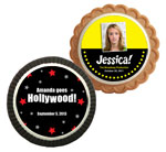 Hollywood theme cookie party favors
