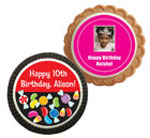 Kids birthday party theme custom cookie party favors