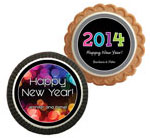 New Years party theme cookie party favors