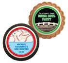 Sports theme cookie party favors