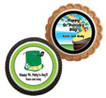 St. Patrick's Day theme cookie party favors
