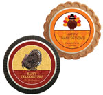 Thanksgiving theme cookie party favors