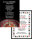 Casino party invitations