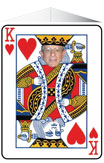 King of Hearts personalized photo centerpiece