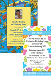 Corporate luau invitations