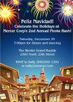 Feliz Navidad Corporate Holiday Party Invitation