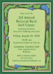 Corportate golf outing invitation