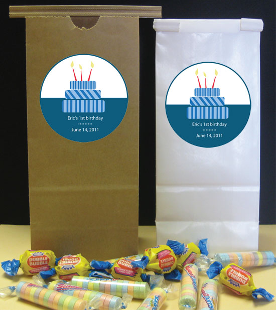 Cake Theme Party Favor Bag