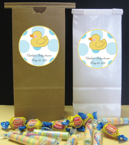 Duck Theme Party Favor Bag