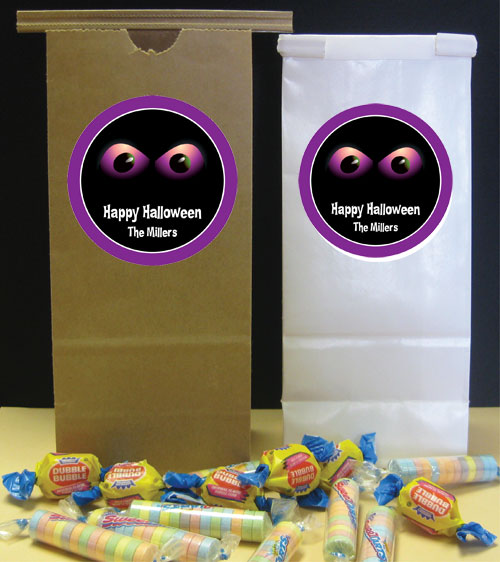 Halloween Eyes Party Favor Bag