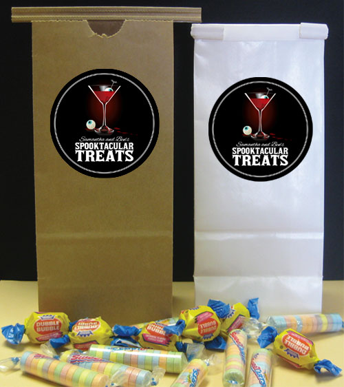 Spooky Spirits Party Favor Bag