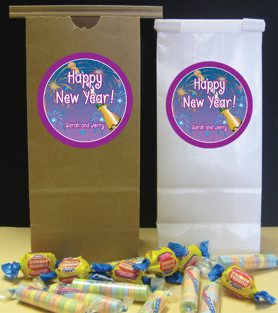 A New Years Eve Toast Party Favor Bag / A New Years Party Favor Bag!