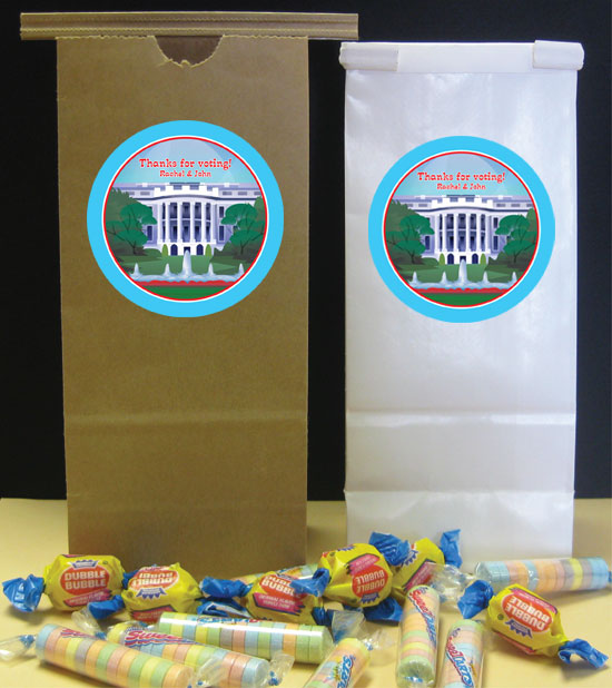 US Election Night Theme Party Favor Bag
