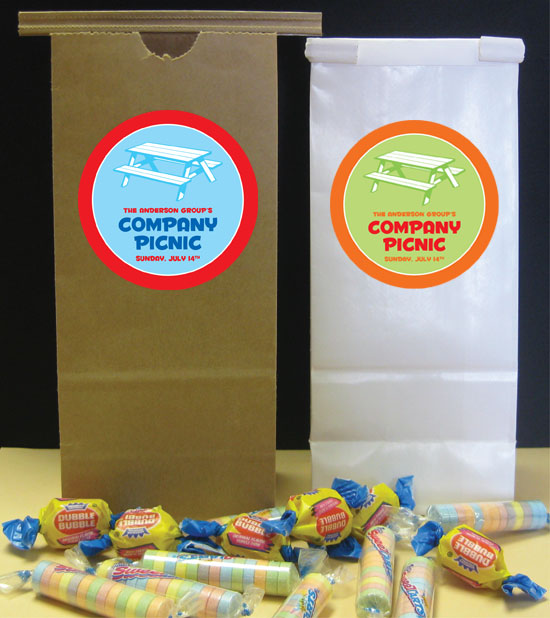 Picnic Theme Party Favor Bag