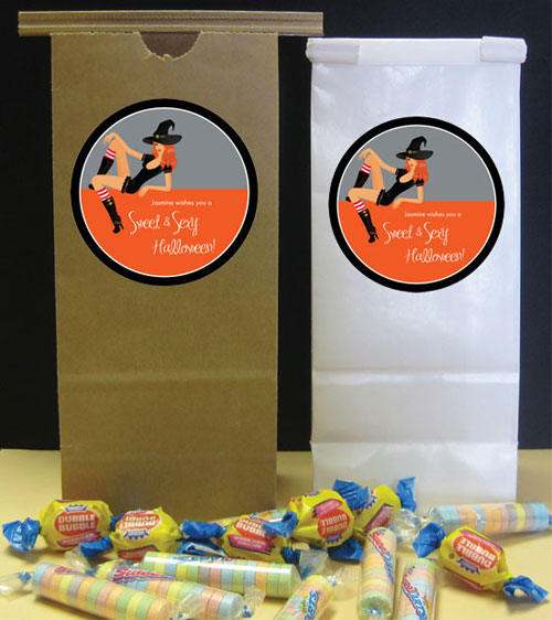 Halloween Sexy Party Theme Favor Bag / Send home a sexy treat from your sexy bash