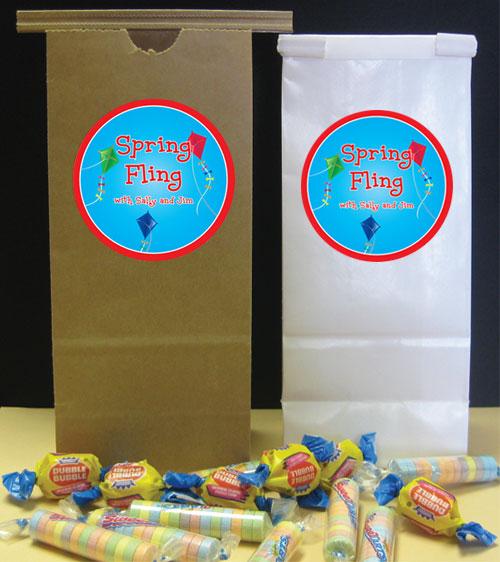 Flying Kites Theme Favor Bags