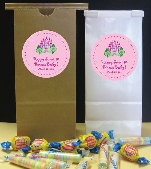 Fairy Tale Princess Theme Favor Bag