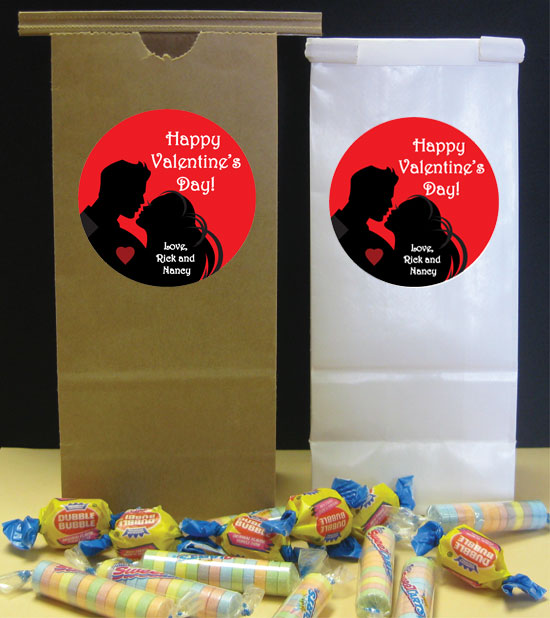 Valentines Day Theme Party Favor Bag / Perfect for your Valentine's Day