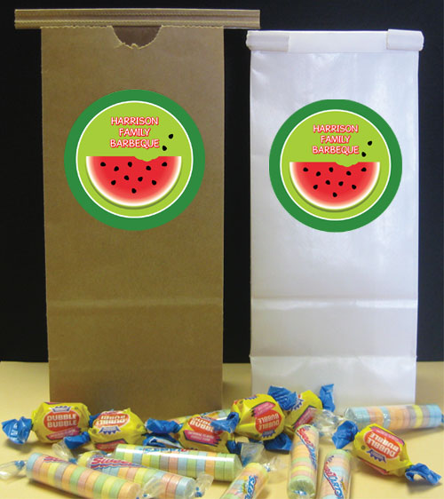 Watermelon Theme Favor Bag