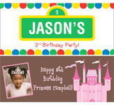 Kid's Birthday Banners, Decoration for boy's birthday