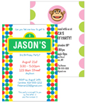 See custom invitations for kids birthday parties