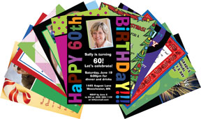 party  personalized party invitations and unique theme invitations, Party invitations