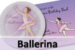 Ballerina theme girls birthday party