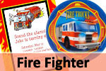 Firefighter theme party and party supplies