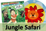 Jungle Safari First Birthday Party