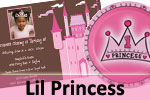 1st Birthday Princess Theme Party