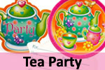 Girls Tea Party Birthday Party