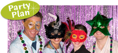 Plan a Mardi Gras Celebration. Celebrating Mardi Gras. How to celebrate Mardi Gras.