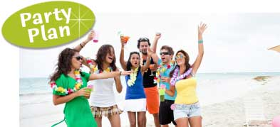 beach theme party. plan a beach theme party